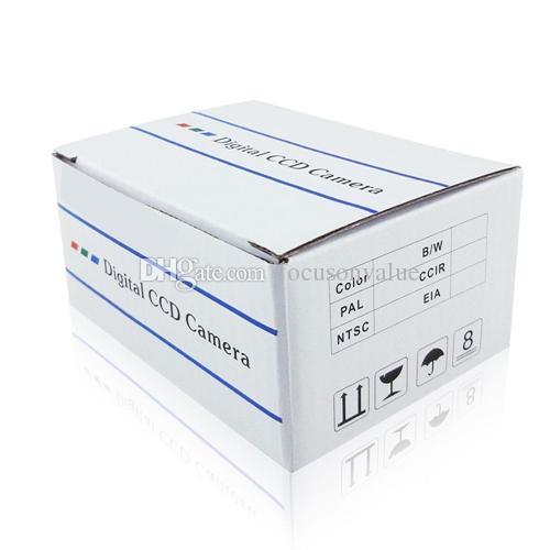 Mini cámara estenopeica 1/4 cmos 600TVL CCTV cámara de vigilancia de seguridad video en color micro CÁMARA DIY para la oficina en casa en caja al por menor