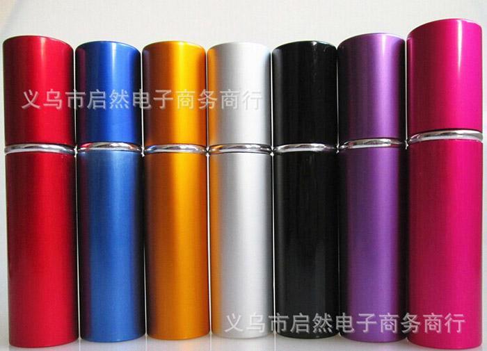 2016 Aluminum glass bottle 10ML Gift fragrances perfume Bottles High Quality Refillable Mini fragrances perfume Atomizer Sprayer Bottle