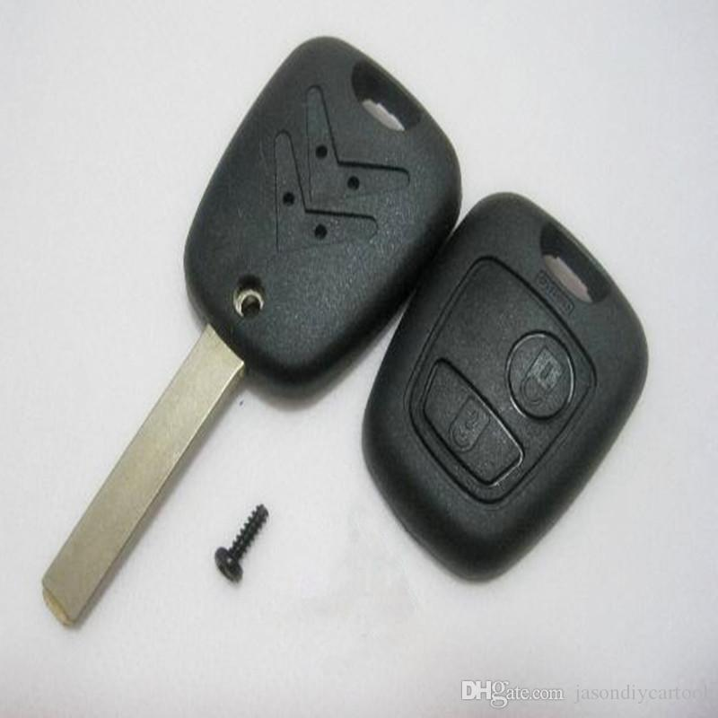New Remote Key Case for Citroen C4 C3 Xsara Picasso Fob 2 Buttons