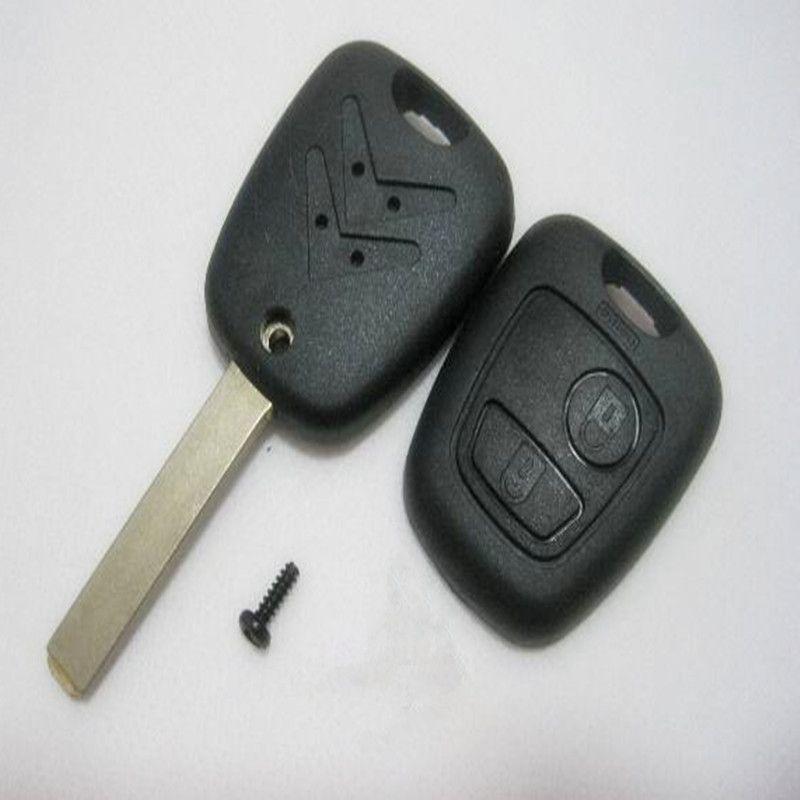 Nuevo caso de llave remota para Citroen C4 C3 Xsara Picasso Fob 2 botones envío gratis
