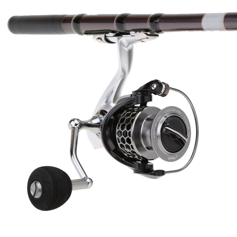 Metal 11+1 BB Ball Bearings Sea Fishing Spinning Reel with Spool Fish Wheel High Speed Lure Rock Fishing Reel order<$18no track