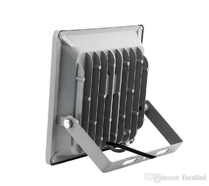 울트라 얇은 Rgb 10W 20w 30w 50w 투광 램프 방수 IP66 LED 옥외 홍수 빛 벽 램프 90-260v AC / DC 12V CE SAA UL