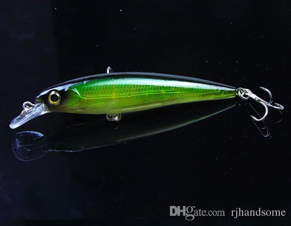"""Vibrative Shallow Jerk fishing lure Japanese Minnow Plastic Hard Bait 0.5oz 11cm 4.3"""" fishing tackle"""