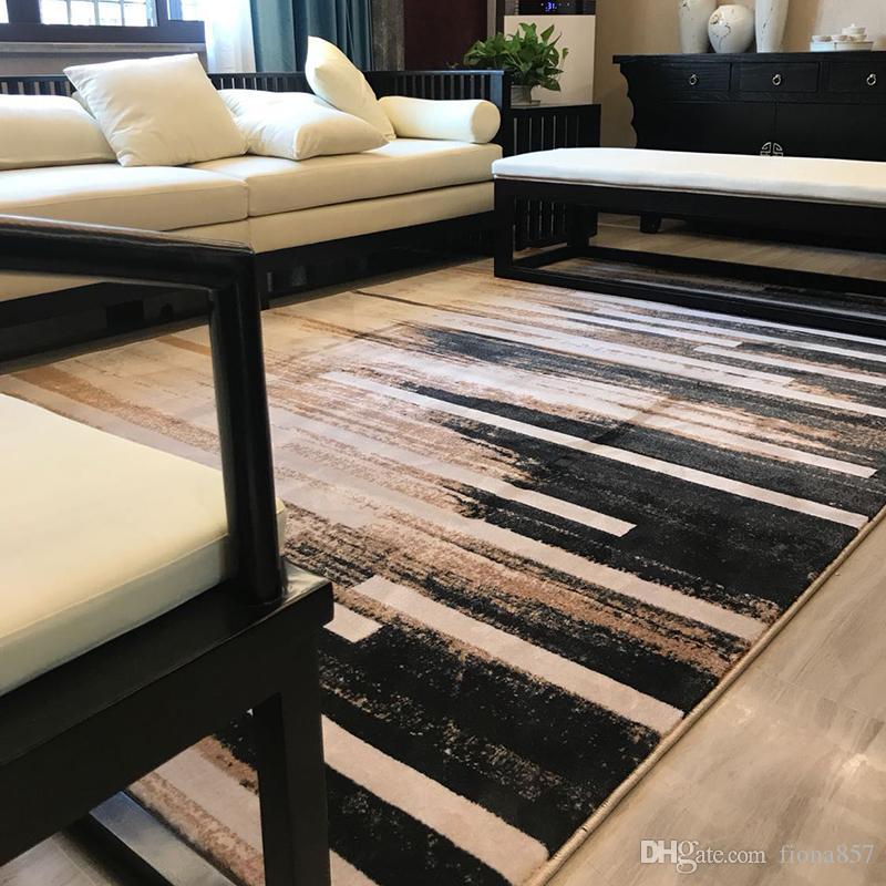 Größe: 120cm * 170cm Farbe: Grau Prozess: Maschine Weben Form: Rechteck  Anwendung Szenen: Home Muster: Landschaft Verkauf Weg: Fertige Teppiche  (Dollar ...