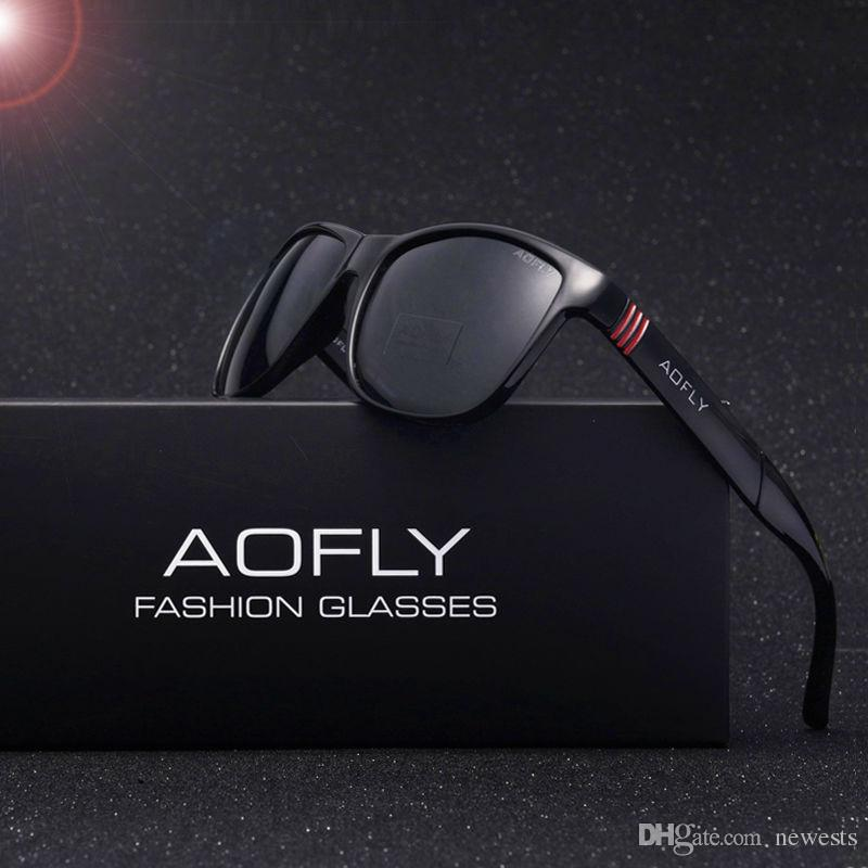4af7b26564c4 AOFLY Brand Design Men Classic Sunglasses Polarized Male Glasses ...