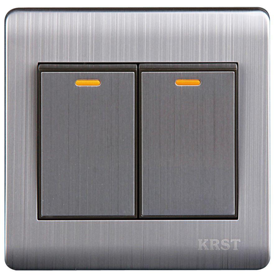 2018 2015 Smart Home Light Switch Interruptor De Luz Krst Deep Grey ...