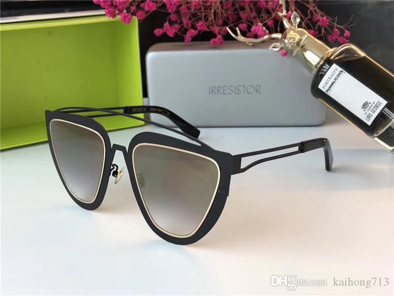 6a83d7241f2 2019 2018 New IRRESISTOR IR016 Fashion Trend Metal Frame Sunglasses High  Quality UV Protection Glasses Fashion Designer Style From Kaihong713