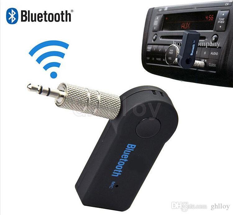 Universal 3,5mm Streaming Auto A2DP Drahtlose Bluetooth AUX Audio Musik Empfänger Adapter Freisprecheinrichtung mit Mikrofon Für Telefon MP3 100 stücke oben