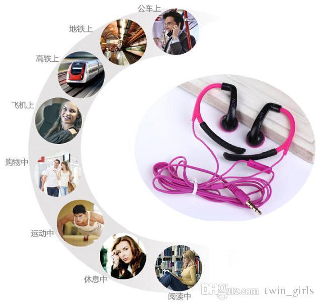 New fashion IN-042 Ear-hook Cuffie sportive da corsa con microfono mp3, apple, telefoni cellulari Samsung, mp3