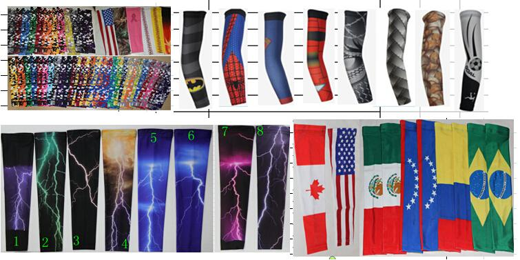 2015 NEW! Baseball Stitches digital camo arm sleeves baseball Outdoor Sport Stretch Arm Sleeve Elbow Extended armband compression sleeve