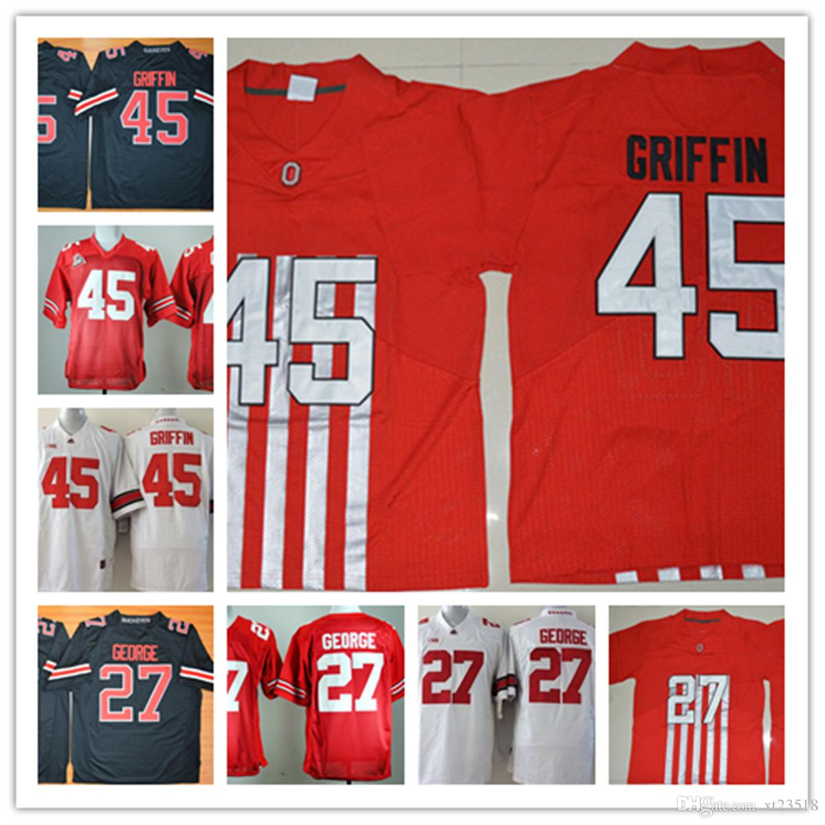 official photos c0b89 711af ncaa jerseys ohio state buckeyes 8 red embroidered ncaa jerseys