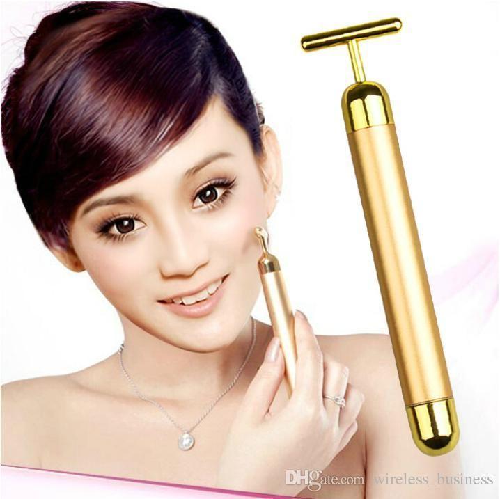 Geliefde 24k Gold Beauty Bar Powerful 3d Face Lift Device Tape Tool  LW38