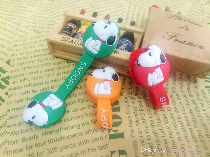 Cable winder wrapped Cord Wire Earphone Cable Bobbin Winder Clip Holder Wrap Wire Organizer wirding thread tool Wholesale