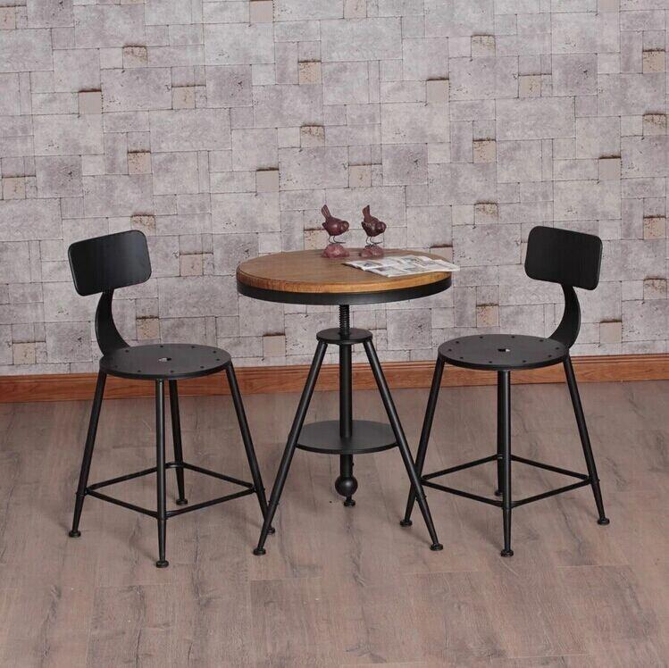 american country wrought iron cafe tables and chairs can lift
