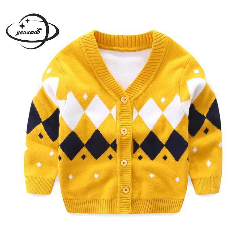 Wholesale Yauamdb Baby Sweater 2017 Autumn Winter 6 24m Girls Boys