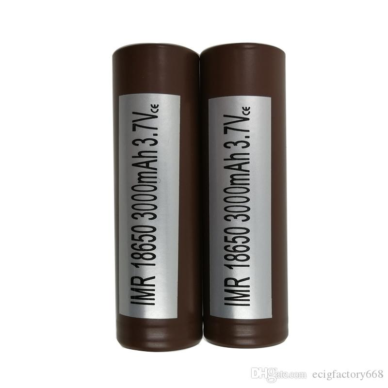100%Authentic for LG HG2 18650 Battery 3000mah 35A Max Discharge High Drain Batteries Crushing Sony VTC5 VTC4 HE2 HE4 Fedex