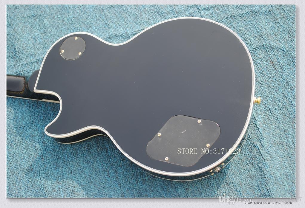 L'alta qualità d'acero della tigre di trasporto libero superiore Brown ha scoppiato la chitarra elettrica con il caso duro