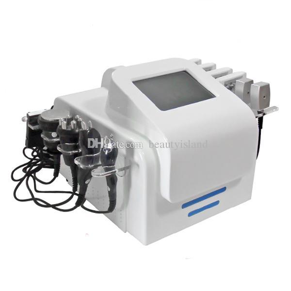 Taşınabilir Lipolaser Kavitasyon RF Zayıflama Makinesi Lipo Lazer Vücut Zayıflama Bipolar RF Tripolar RF Kavitasyon Makinesi Güzellik Salonu için