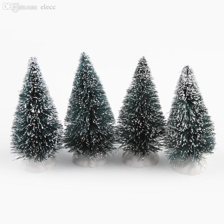 wholesale new arrival christmas tree a small pine tree placed in the desktop mini christmas tree drop shipping xmas 0010 christmas decoration ornaments