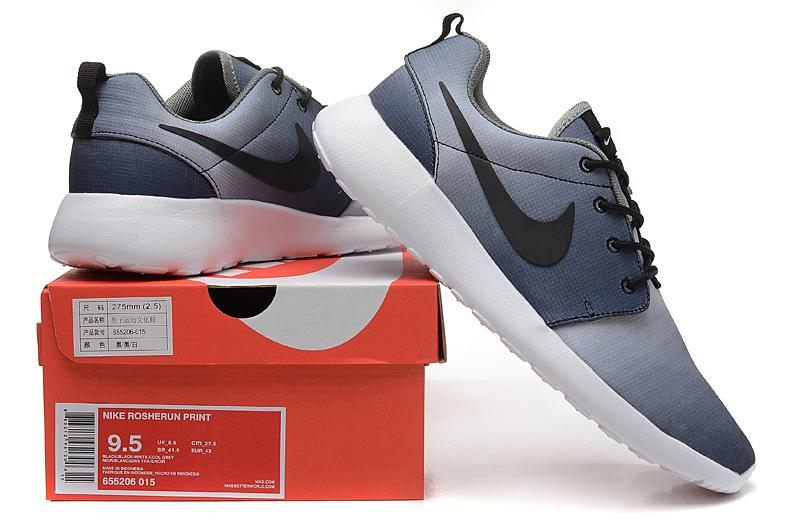 New Arrivals Nike Roshe Run Running Shoes 100% Original Nike London Olympic Sneakers Color Fades High Quality Mesh Up Athletic Sport Shoes Running
