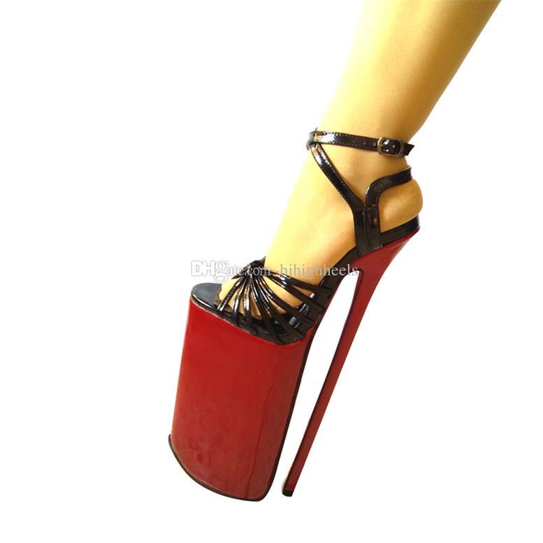 Acquista Donna Tacchi 30 Cm Altezza Tacco PU Sexy Punta A Punta Tacco A  Spillo Sandali Con Tacco Partito Scarpe Altri Colori Disponibili NO. 9e34bdb3345