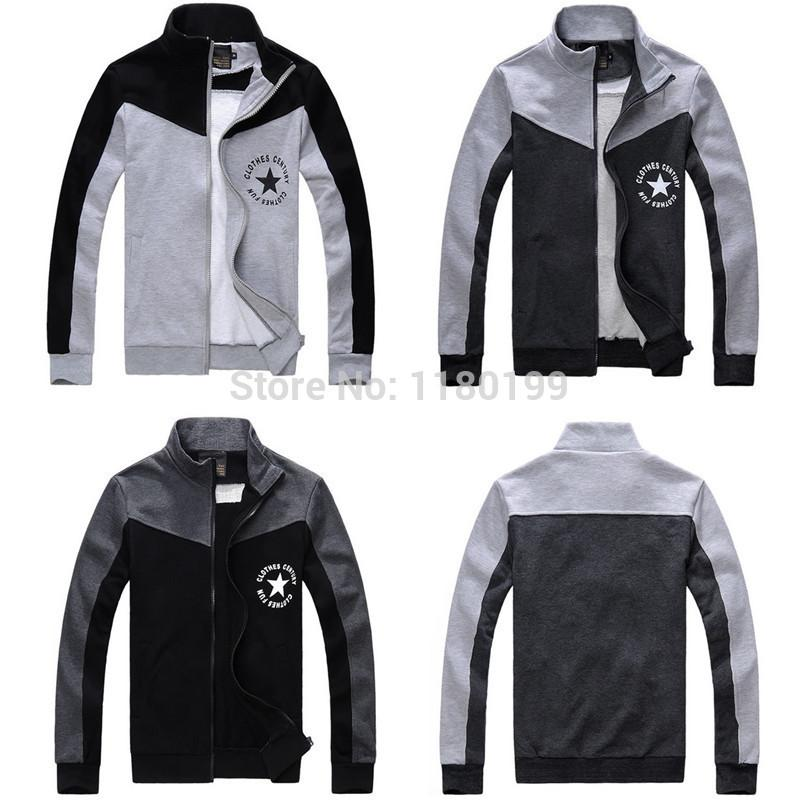 Men Sport Jacket Autumn Fashion Brand Design Cardigan Sweatshirts ...