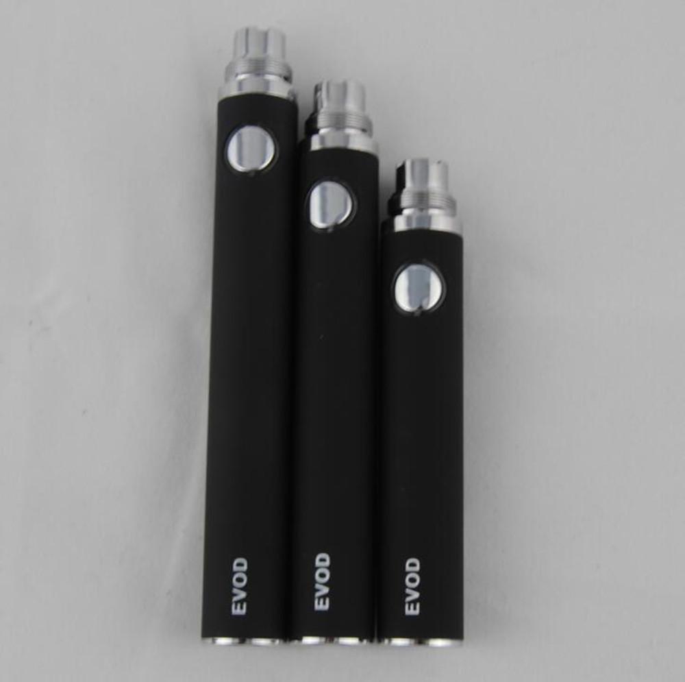 eGo evod Batterie elektronische Zigaretten Vape Stifte für 510 Gewinde mt3 CE4 CE5 CE6 ViVi Nova DCT Zerstäuber Zerstäuber 650/900 / 1100mah bunt