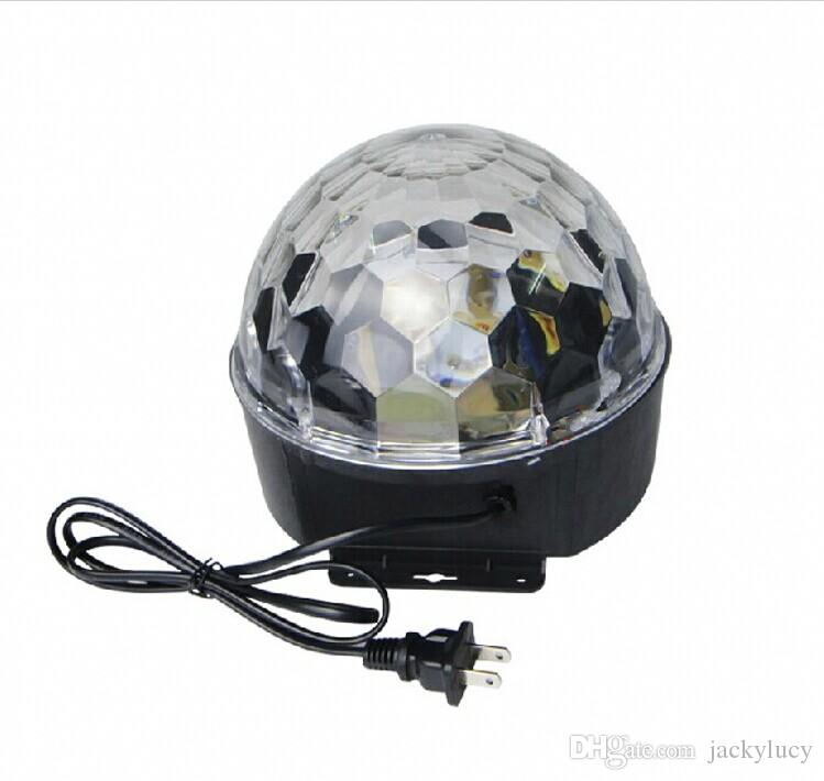 Sprachsteuerung LED Kristall Magic Ball Licht 6 Farbwechsel Laser Effekte Bühnenbeleuchtung Disco Lichter Für DJ Bar Party Supplies