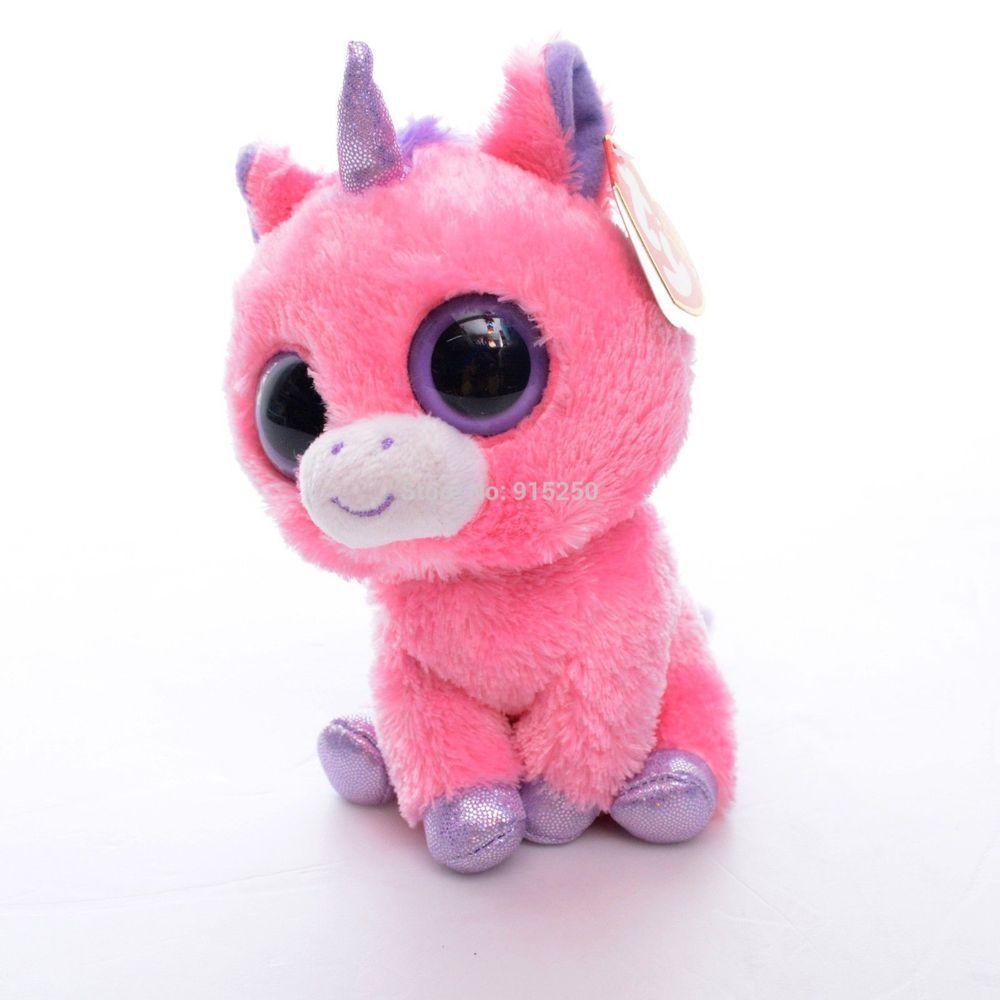 2019 5 Original Ty Collection Magic Pink Unicorn Plush