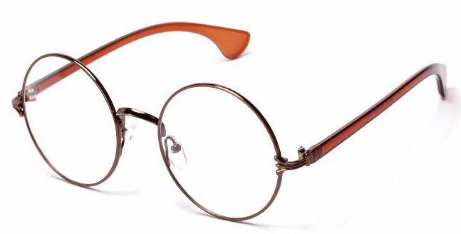 b2a5f44c83 Wholesale-Europe Newest Men women Round Retro Metal Eyeglasses ...