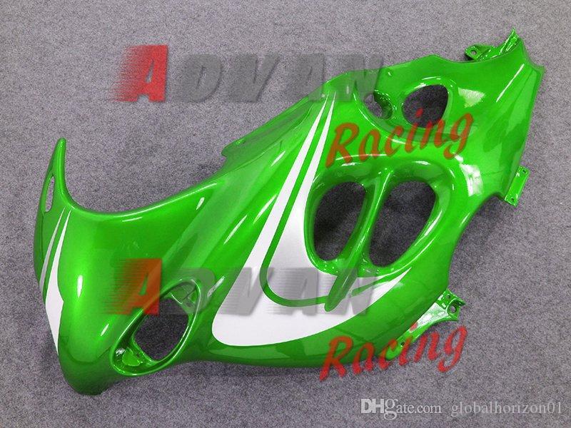 Verde y blanco Inyección personalizada de carenado pintado GSX750 / 600F Katana 05-06 19