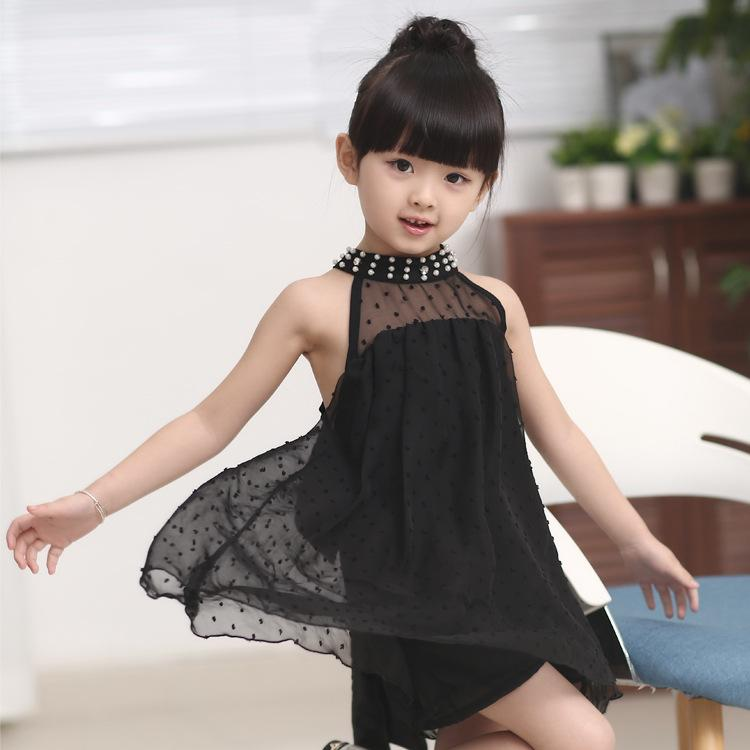 2019 Dresses For Princess Girls Cool And Refreshing Chiffon