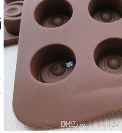 Новый Силиконовый мини торт кекс выпечки плесень Плесень конфеты печенье шоколадный лед желе формы для выпечки Пан 10 шт.