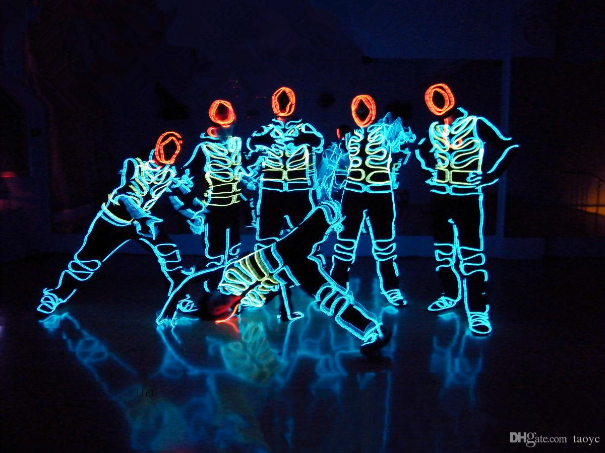 2019 led stage costumes el cold light show dance evening necessary support custom from taoyc. Black Bedroom Furniture Sets. Home Design Ideas