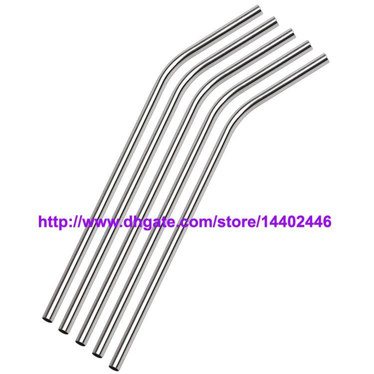 Ücretsiz kargo / Paslanmaz Çelik Hasır Çelik Hasır Bar İçme Yeniden kullanılabilir ECO Metal 10g Payet 8.5