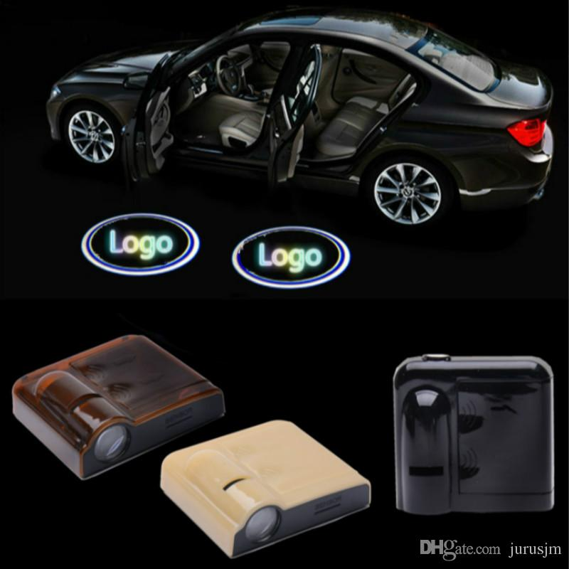 2019 Wireless Car Door Welcome Light For Most Cars Car Logo