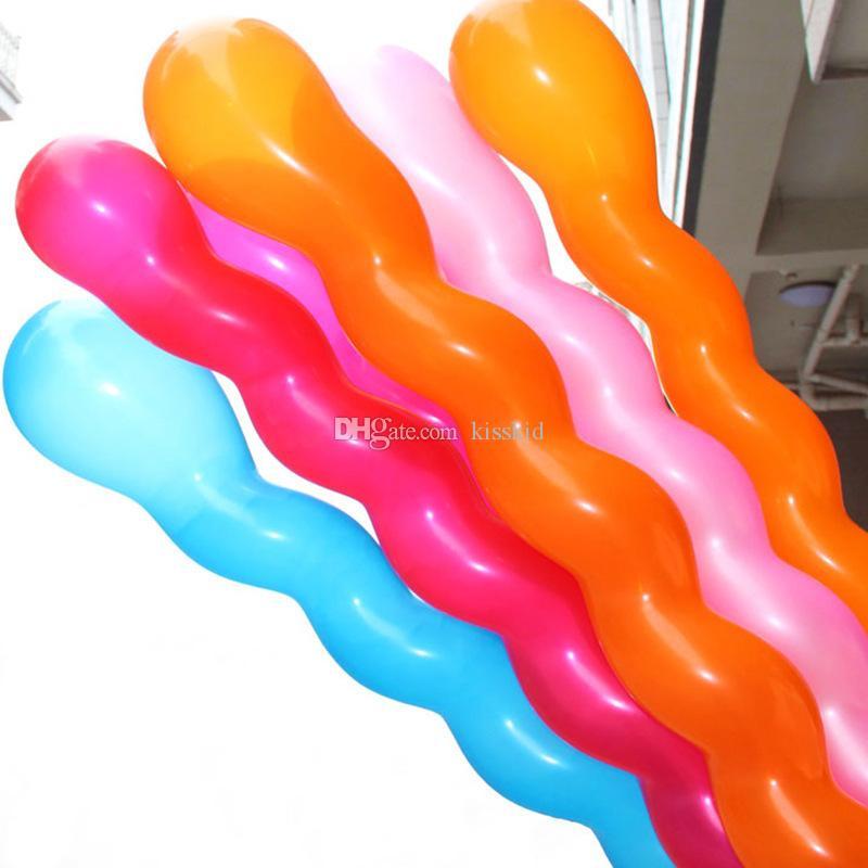 a spirale assortiti palloncini in lattice multicolore vite palloncino bomboniere bomboniere regalo bambini decorazioni la casa nuovo