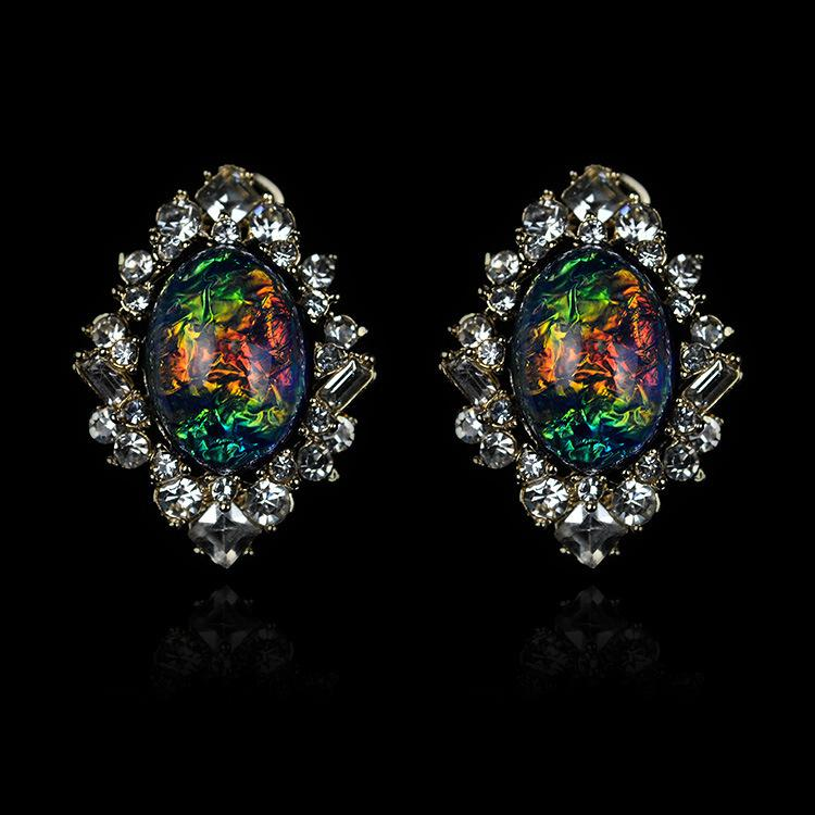 of product touch image stud fire earrings opal diamond products