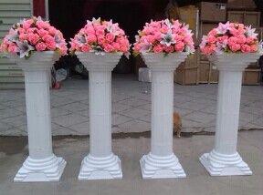 White Roman Columns Plastic Roman Pillar For Events Or Wedding Decoration  Wedding Decorating Supplies Wedding Decoration Ideas For Reception From  Etsygift, ...