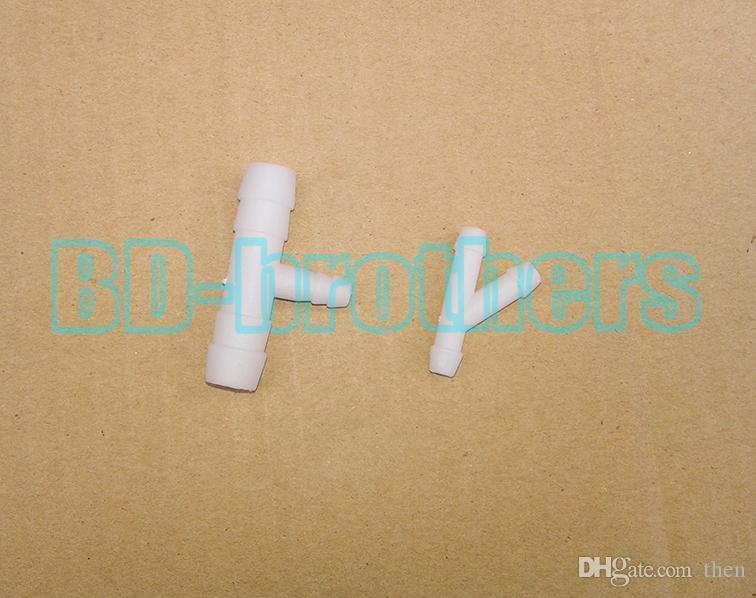 9.5 ملليمتر / 5.5 ملليمتر الأبيض البلاستيك autodrinker مياه الشرب السلطانية موزع شارب الساقي waterbowl ل الطيور السمان شرب السلطانية 20 مجموعات / وحدة