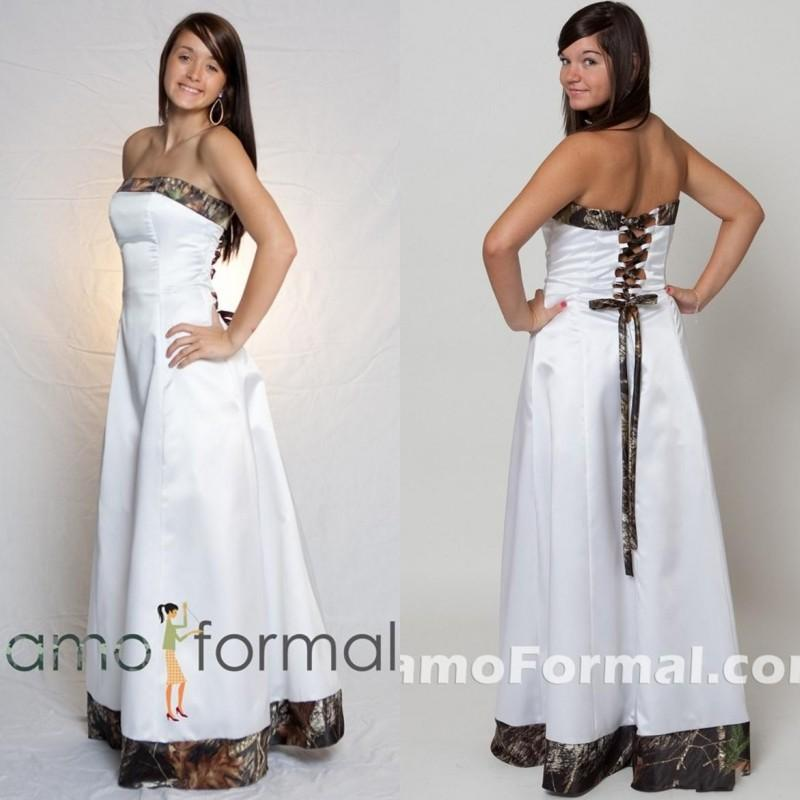 a5a228f57985c 2015 Cheap Camo Wedding Dresses Custom Made Strapless A-line Floor Length  Popular Bridal Gowns with Lace-up Back Saudi Arabic Style Vestido De Noiva  ...