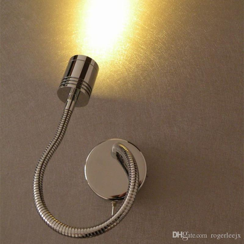 2018 Up And Down Wall Light Chrome Finish Position Flexible Bright ...