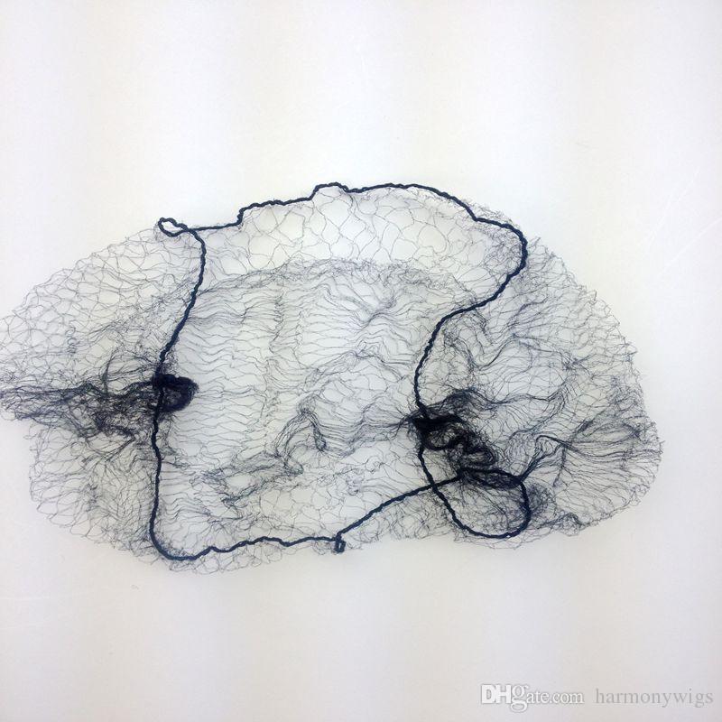 144 قطع / 1 مجموعة نايلون hairnets غير مرئية المتاح شباك الشعر 20