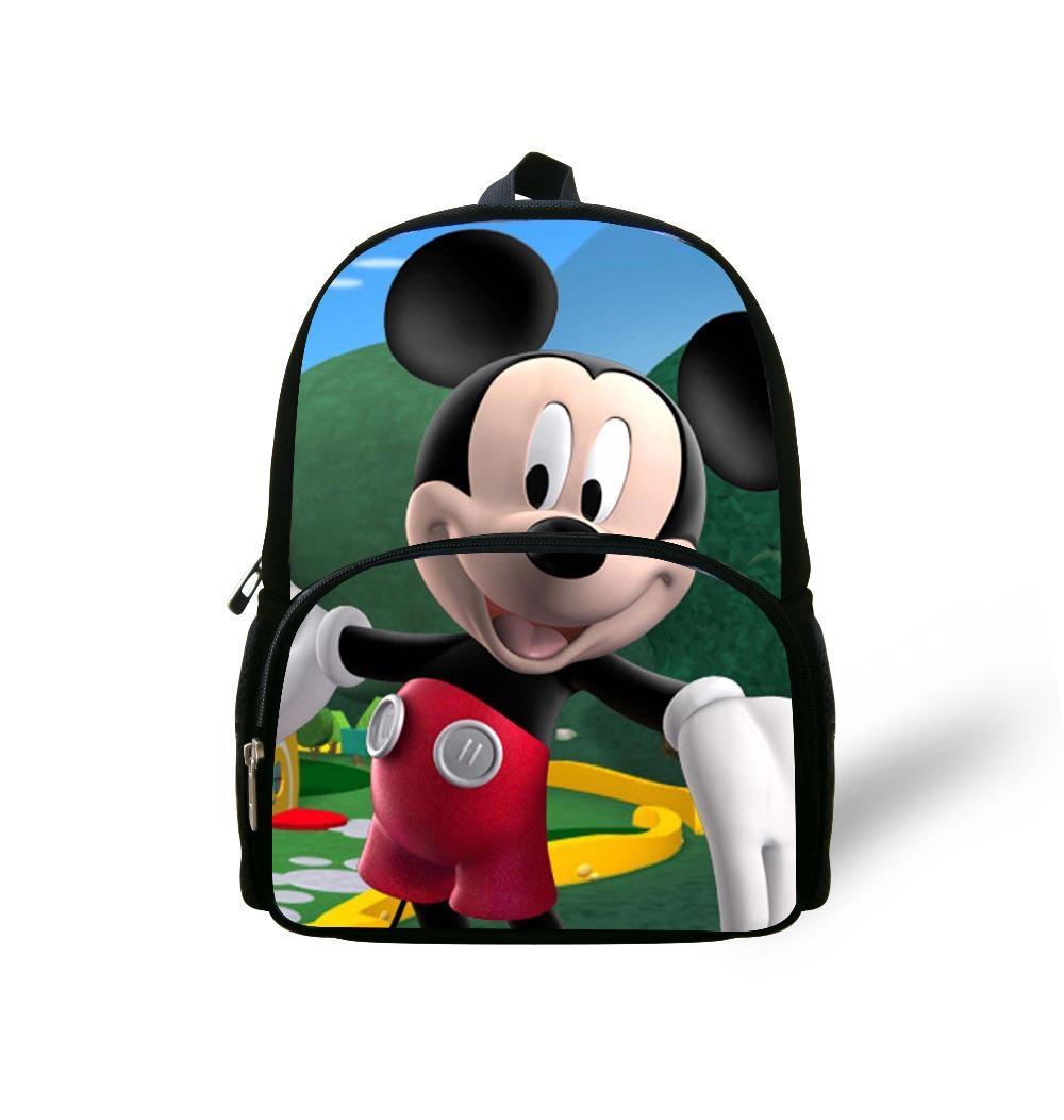 Children Cartoon Mickey Mouse School Bags Boys
