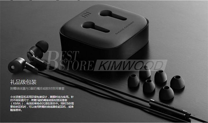 Más reciente Original Xiaomi Piston 5 Auricular 3.5mm Xiaomi Edición Estándar Auriculares Auriculares Auriculares Con Micrófono Remoto Paquete al por menor DHL libre