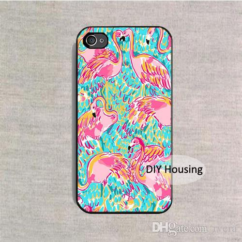 release date: 88b5f 87f43 Free Shipping Phone Case Lilly Pulitzer Flamin cover for iPhone X XS XR MAX  5 5s 6 6s 7 8 Plus samsung galaxy s6 S7 edge S8 S9 PLUS note 8 9