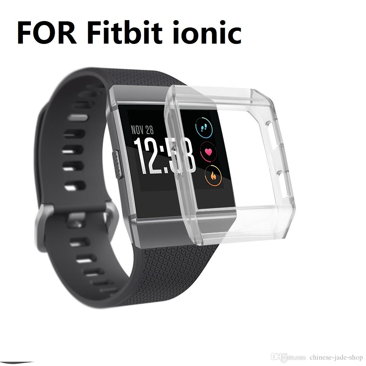 Replacement SOFT TPU Protect Case Cover For Fitbit Ionic Smart Watches