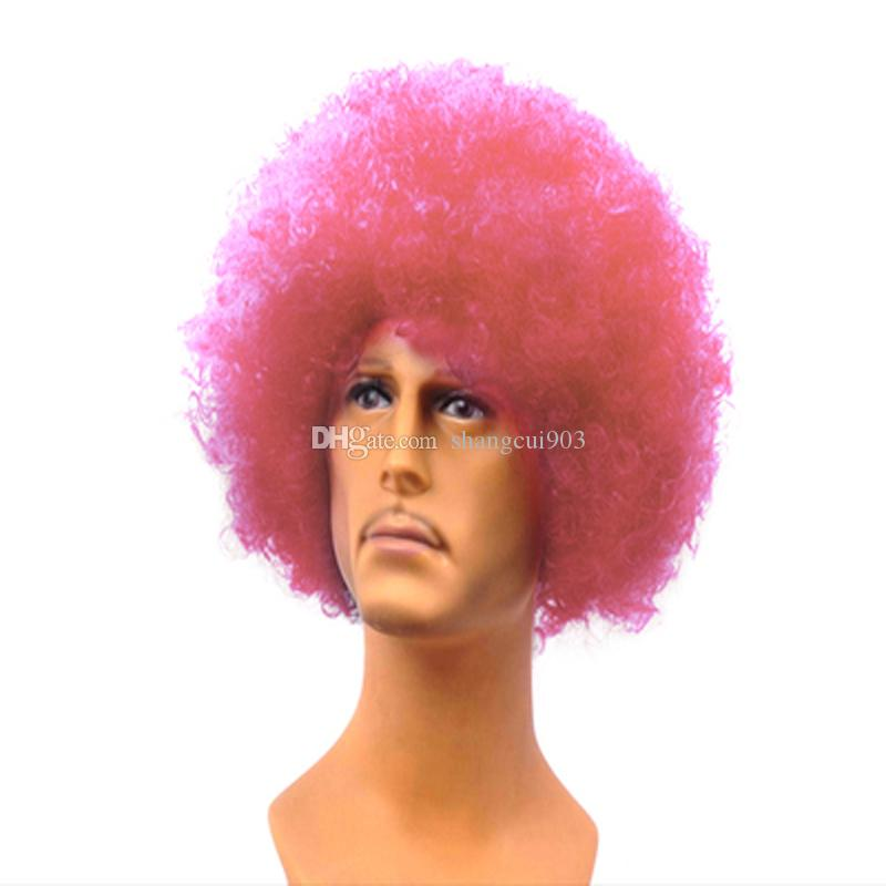 New Party to Play the Role of Performances Explode Short Curly Hair Wig 16 kinds of colors to choose