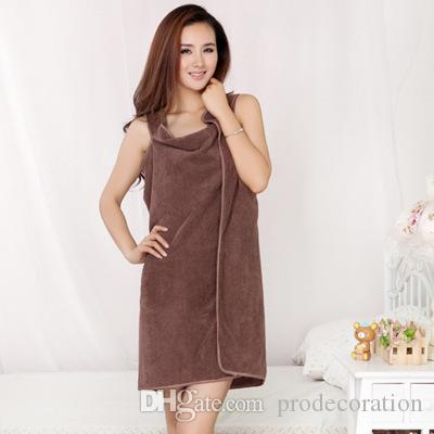 New Microfiber Shower Towel Bra Straps Amazing Bow Skirt To Wear Magic Bath Towel For Adult 150*80cm Bath Towl
