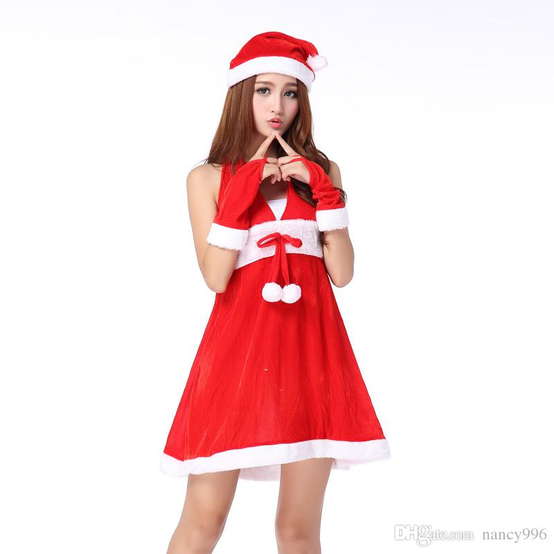 the sex sling backless lingerie christmas clothing of the female adults dress with the costume ball christemas day christmas clothing cute clothes online